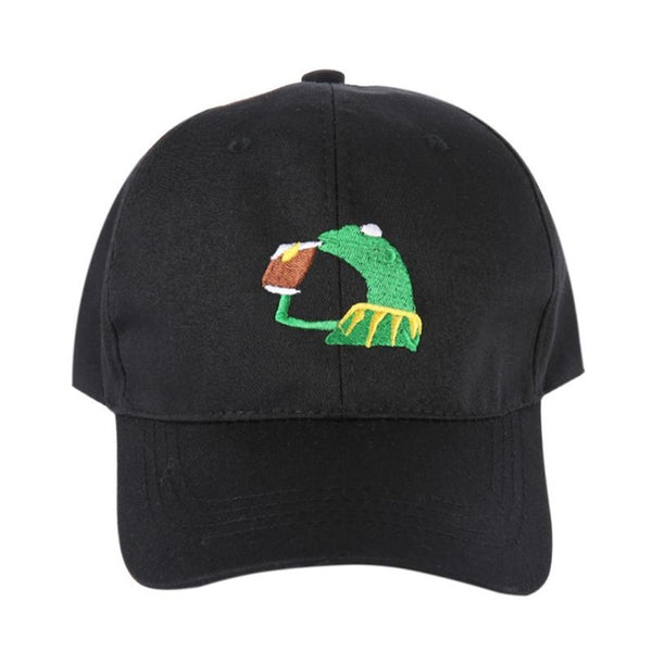 Sipping Tea Dad Hat - Topshelf7