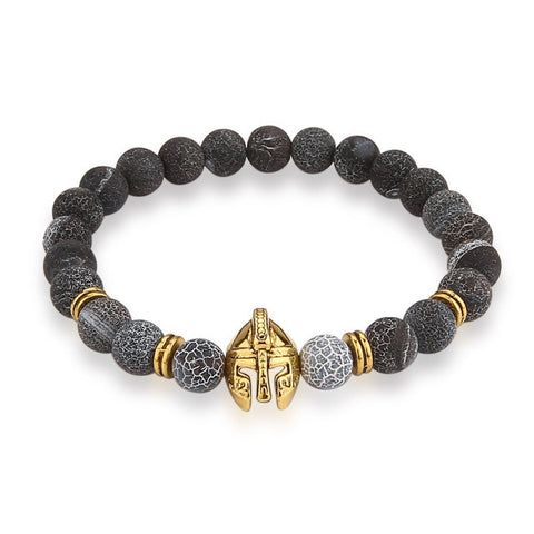 Golden Knight Beaded Braclet - Topshelf7