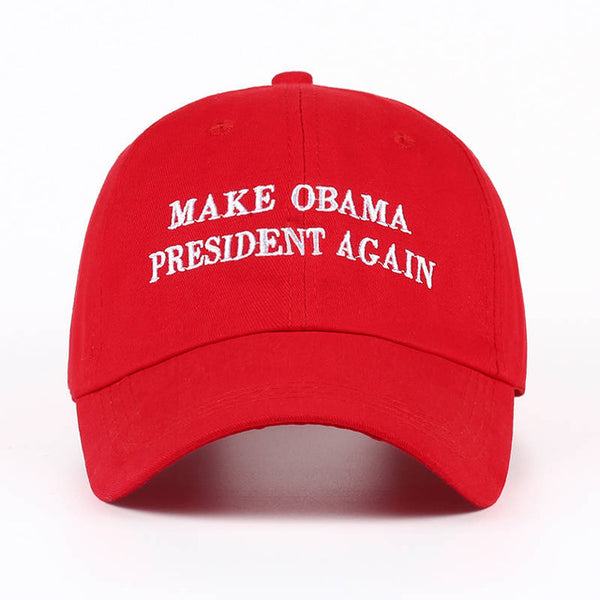 Make Obama President Again Dad Hat - Topshelf7