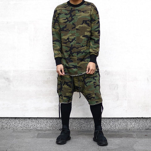 Low Cut Camo Shorts - Topshelf7