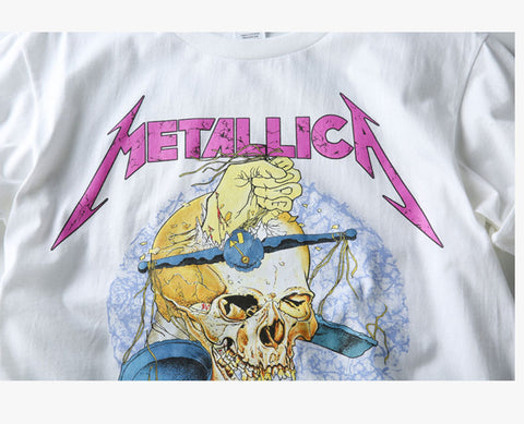 "Metallica ""Damaged Justice"" Tee - Topshelf7"
