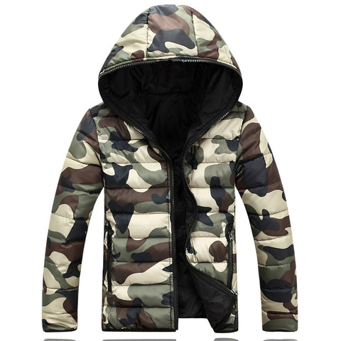 Camo Bubble Coat - Topshelf7