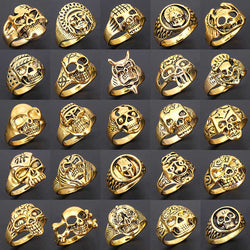 25pcs Skull Ring Assortment (Top Seller)