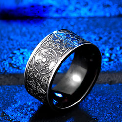 Ancient Azure Dragon Ring