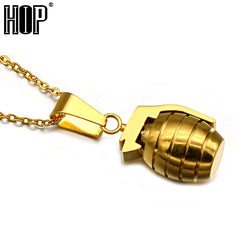 Hand Grenade Necklace
