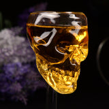 HOLLOW SKULL WINE GLASS