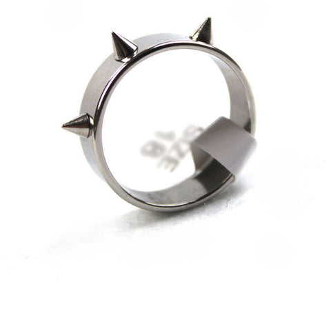Spike Rivet Cone Ring