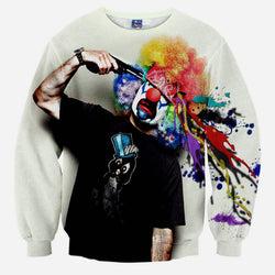 3D Sweatshirt - Death Clown