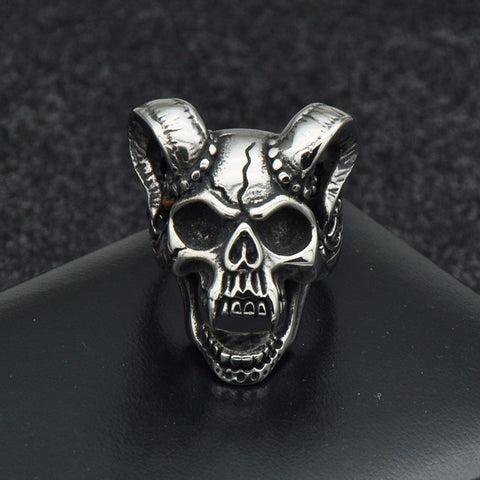 web ring evil for skull smallest angled great the product frog rings