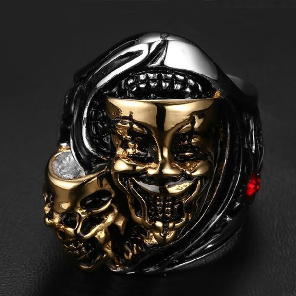MASCARAED MASK BALL RING