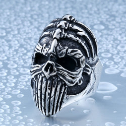 Alien Nightmare Skull Ring