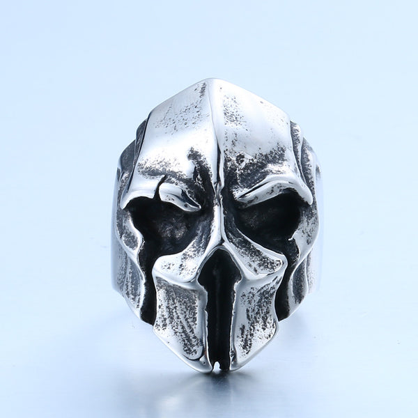 Drone Warrior Vintage Skull Ring