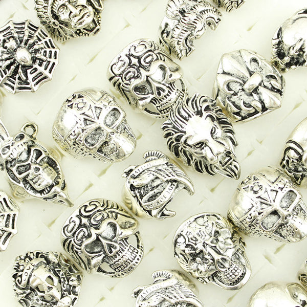 Skull Ring Assortment (20pc)