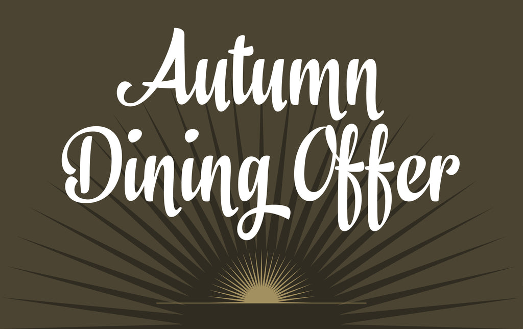 Autumn Dining Promotion