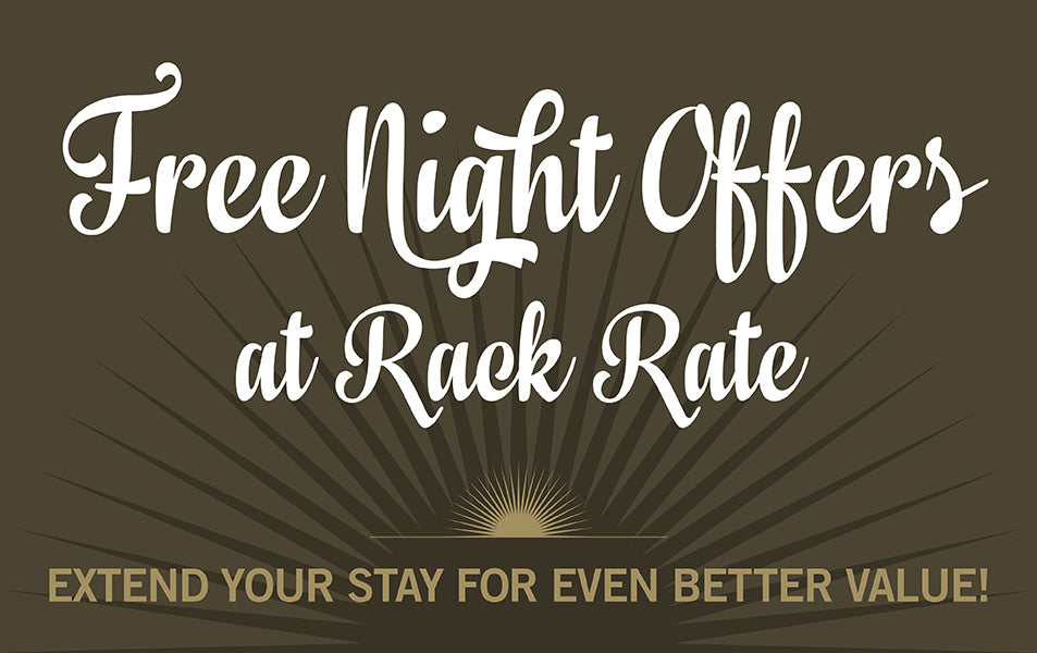 Free Night Offers at Rack Rate