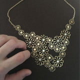 Hollow Flowers Necklace