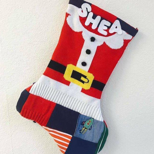 Memory Christmas Stocking-Memory Keepsake Stocking-Memory Bears By Vicky