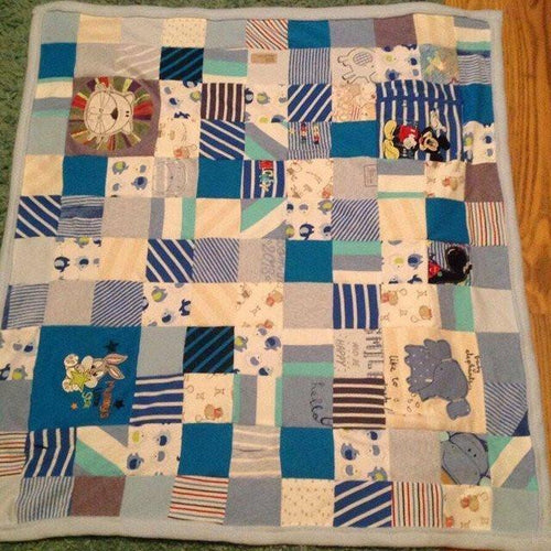 Memory Double Bed Blanket - Memory Bears By Vicky
