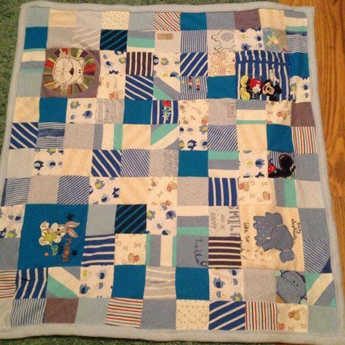 Memory Single Bed Blanket - Memory Bears By Vicky
