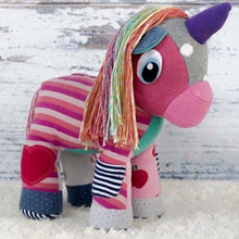 Memory Unicorn-Memory Keepsake Unicorn-Memory Bears By Vicky