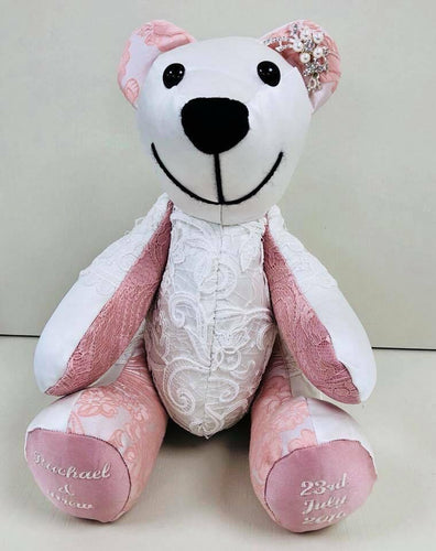 Wedding & Special Occasion Keepsakes-Wedding & Special Occasion Bear-Memory Bears By Vicky