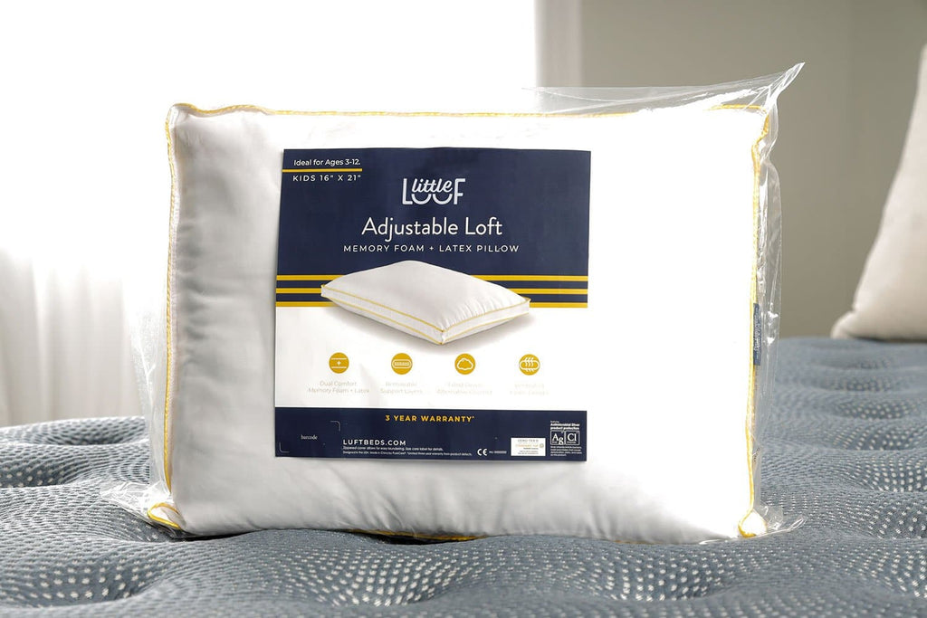 Little LuuF Adjustable Loft Pillow