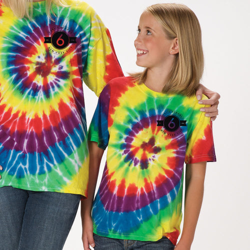 Adult Double Rainbow Wavy Gravy Shirt