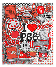 Corey Paige x PS 6 Super Soft Blankets - Vivid or Red+Black Colors - 50 x 60""