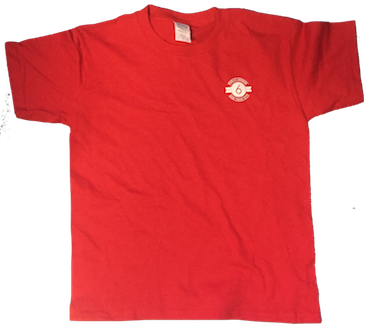 Red Short Sleeve Cotton PS 6 T-Shirt