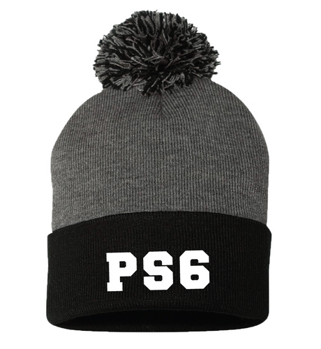 PS 6 Solid Beanie Hat