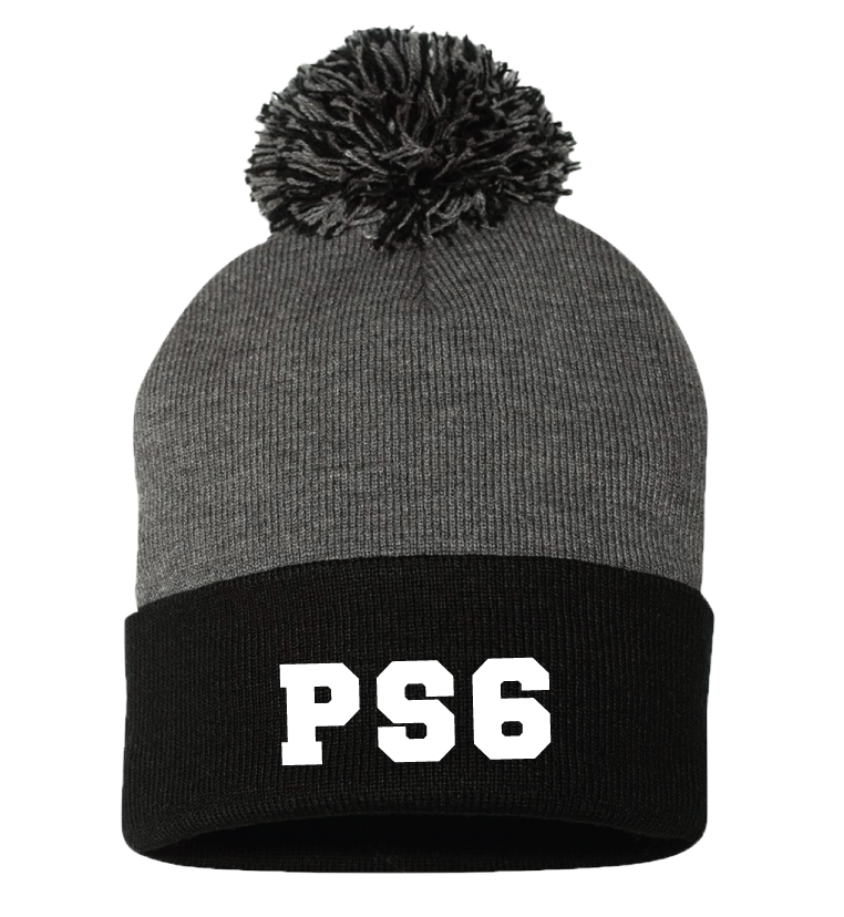 PS 6 Two Tone Beanie Hat