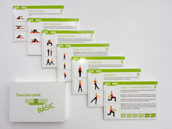 Smovey Exercise Card Pack