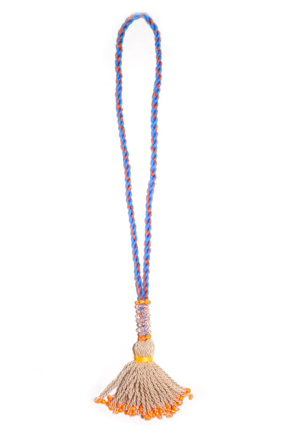 Go Dash Dot Accessory Tassel - Khaki