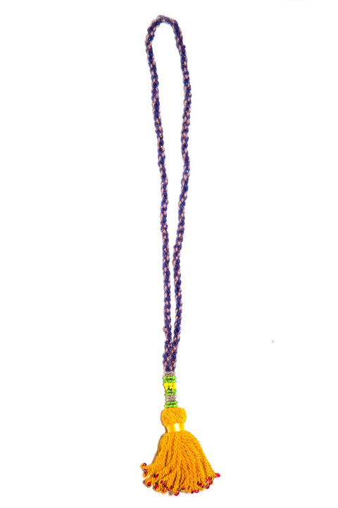 Go Dash Dot Accessory Tassel - Mustard