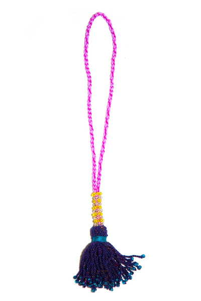 Go Dash Dot Accessory Tassel - Navy Blue
