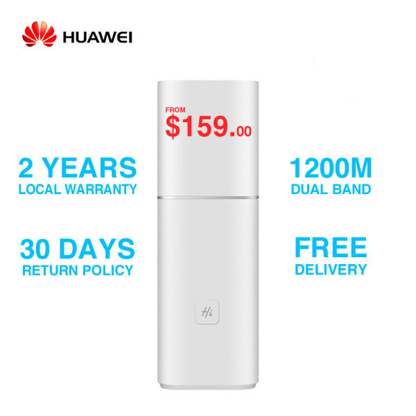 Huawei A1 Intelligent Dual Band Wireless WiFi Router 802.11ac 1200M - Free Delivery