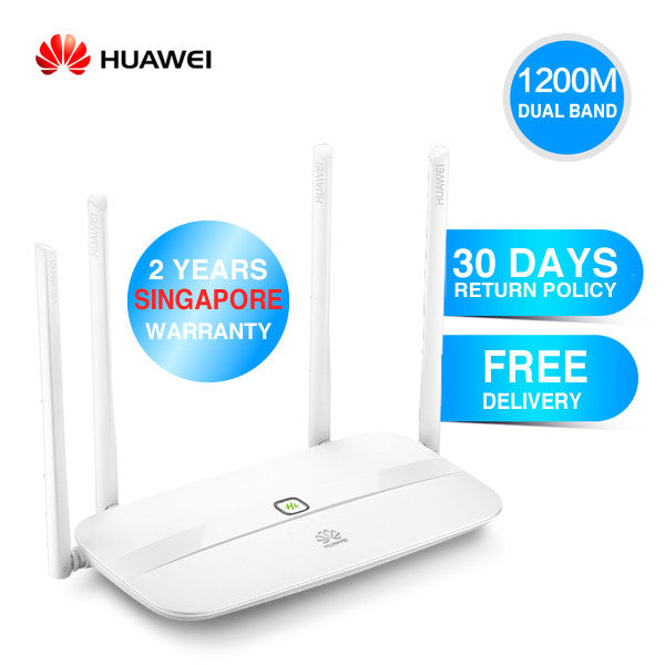 Huawei WS832 Intelligent Wireless Wifi Router 1200M 11AC Dual Core - Free Delivery