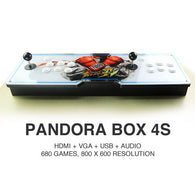Pandora Box 4S Arcade Game Console 680 Games - Free Delivery