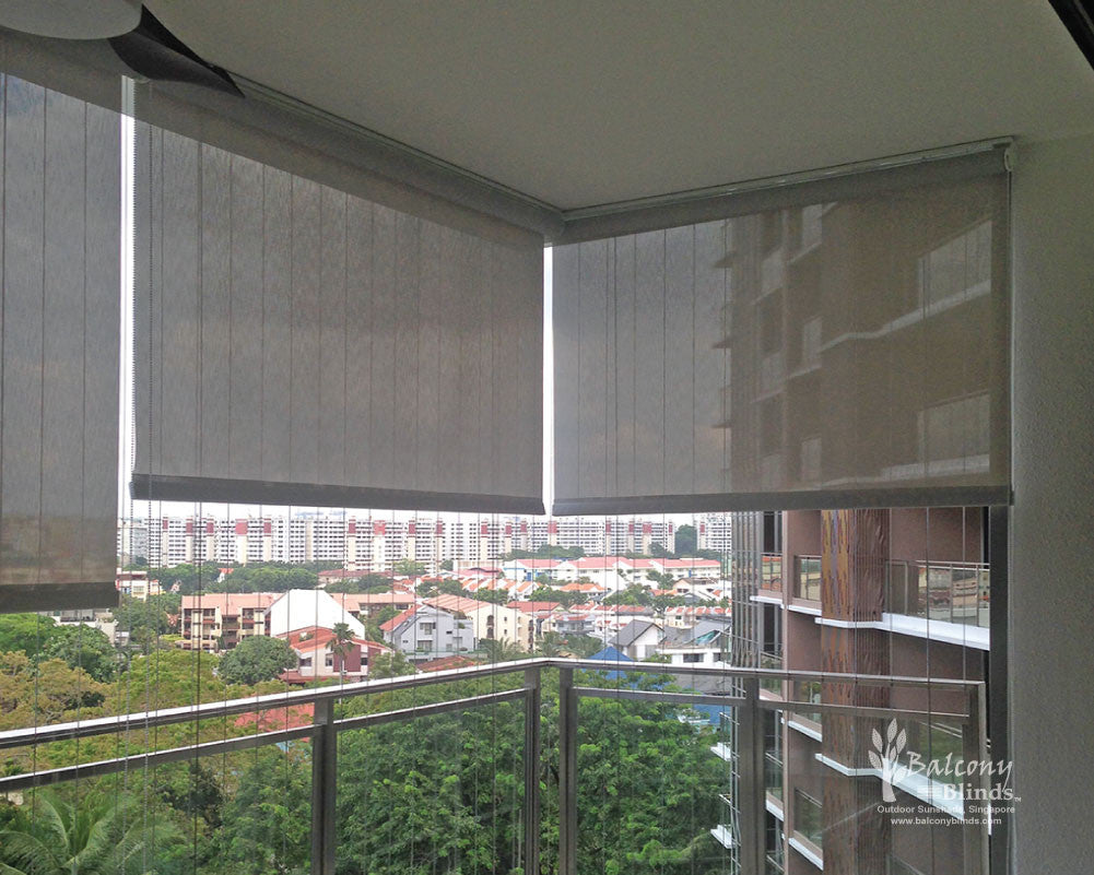 Window blinds kah huat textile co - Curtains Kah Huat Textile Co Roman Blinds Singapore Mirage Fabrics Outdoor Roller Blinds Screen Fabric