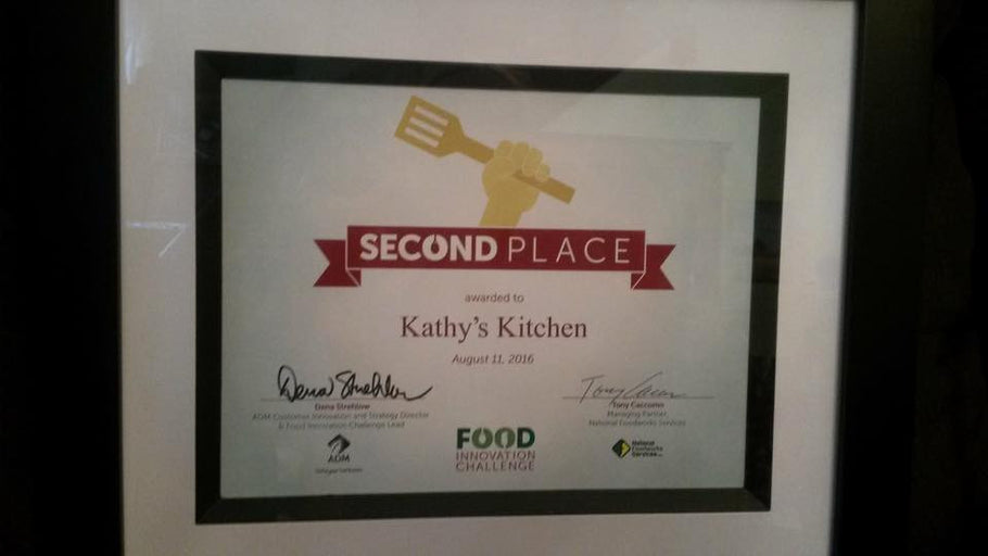 Second Place Finish at Food Innovation Challenge!