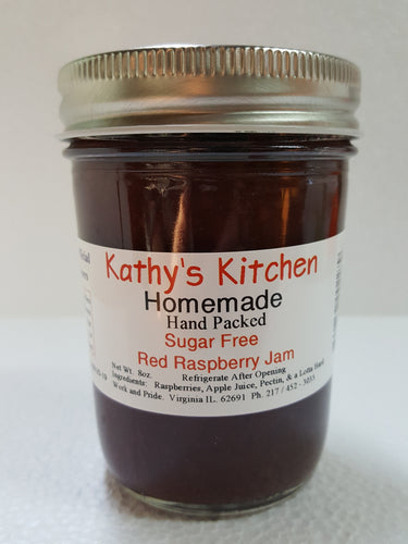 Sugar Free Red Raspberry Jam