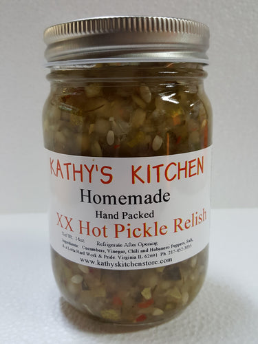 X X Hot Pickle Relish