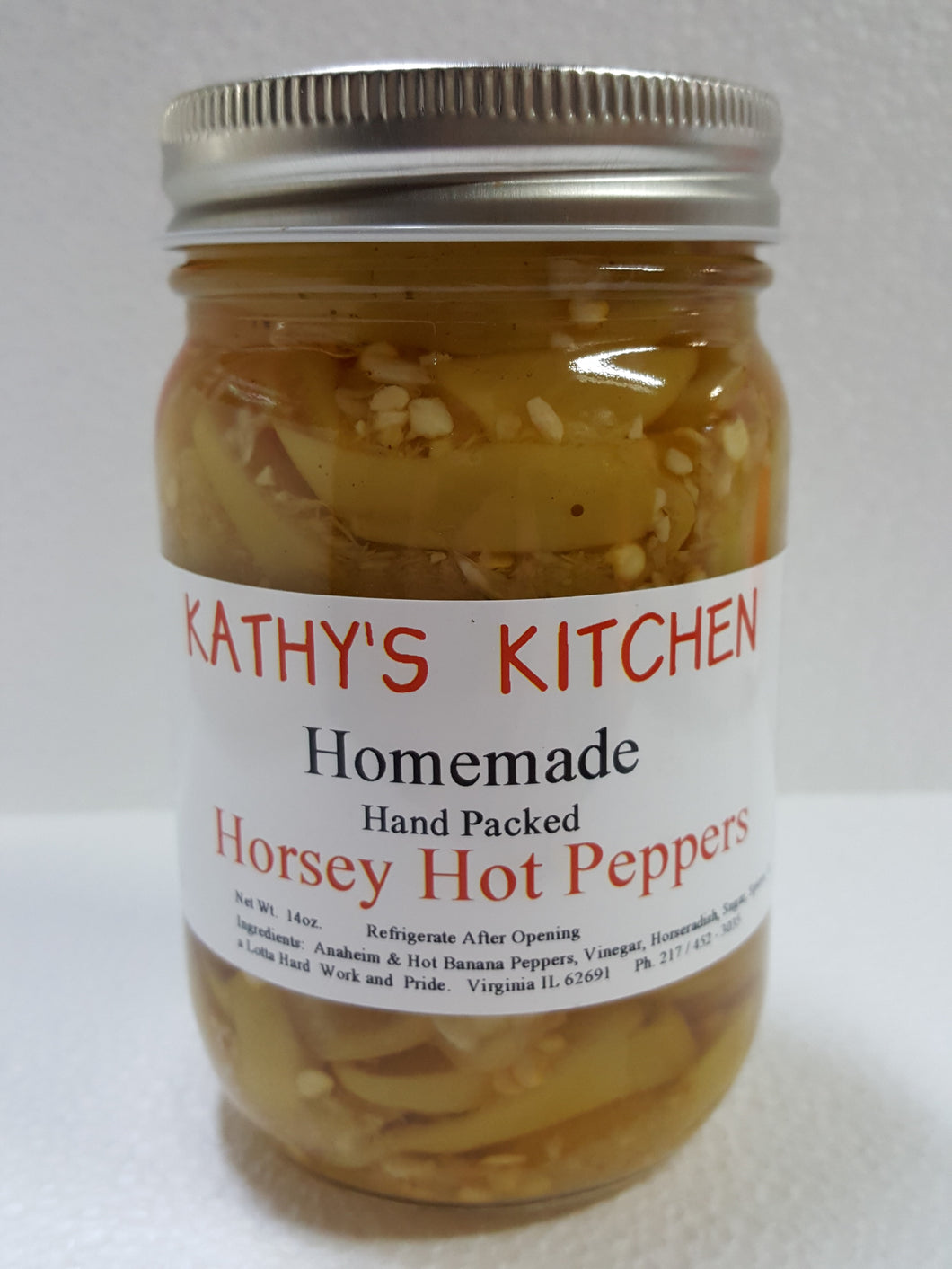 Horsey Hot Peppers