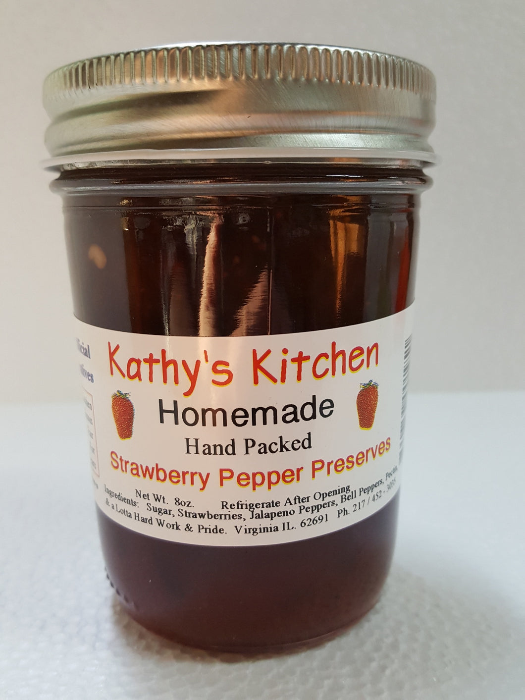 Strawberry Pepper Preserves