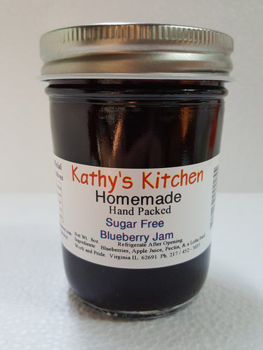 Sugar Free Blueberry Jam