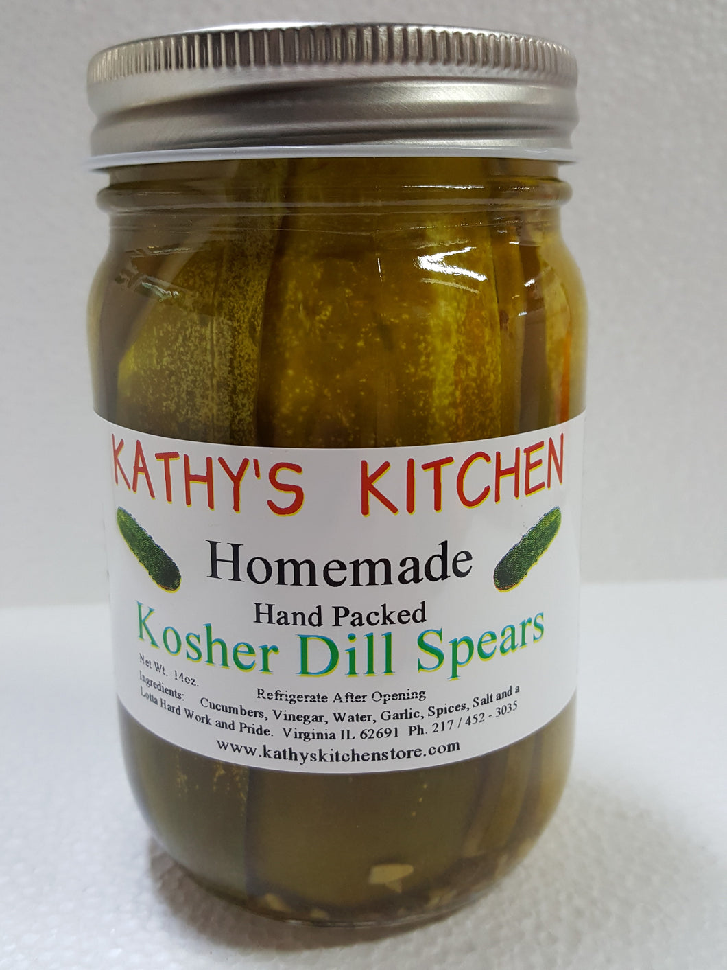 Kosher (style) Dill Pickles
