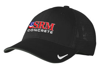 Nike Black/Black Dri-FIT Mesh Back Cap