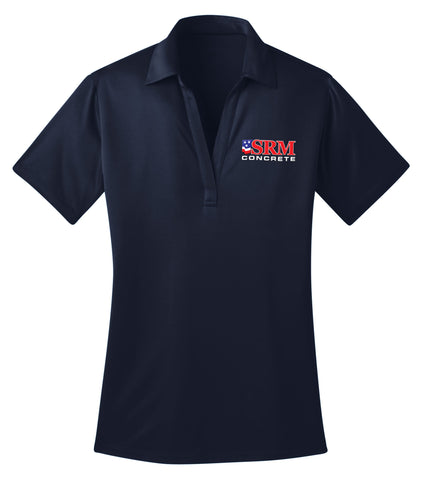 Ladies Navy Silk Touch™ Performance Polo