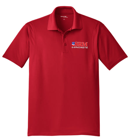 Men's Red Micropique Sport-Wick® Polo