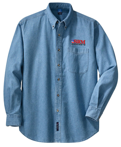 Men's Long Sleeve Value Denim Shirt